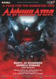 Annihilator - 'A tour for the Demented': concert la Arenele Romane din București
