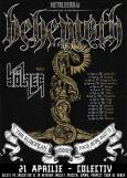 BEHEMOTH si BOLZER: concert in Bucuresti