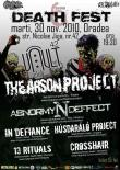 ABNORMYNDEFFECT si THE ARSON PROJECT la Death Fest 6