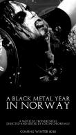 Cel de al doilea trailer al documentarului 'A Black Metal Year In Norway' - interviu Nocturno Culto (DARKTHRONE, SARKE)
