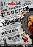 CLAUSTROFOBIA si AFFLICTION concerteaza in Fire Club