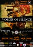 Concert Voices of Silence, Vepres, Conflict Mental si Dark Fusion