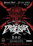 Dirty Speed Metal Tour 2013: VIOLENTOR si I.A.D. in Bucuresti