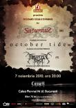 DOOMED SOULS EVENING cu Saturnus, October Tide si Forgotten Tomb