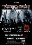 Guest Metal Night 2.0 in club Fabrica din București