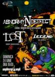 L.O.S.T., LEGEND si ABNORMYNDEFFECT vor concerta in Iasi