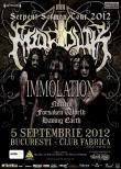 MARDUK si IMMOLATION in Club Fabrica