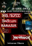 METROCK, COD, SINSCAPE, N.E.G.A.T.I.V. si AKRAL NECROSIS - joi in Ageless Club