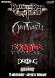 OBITUARY, EXODUS, PRONG si KING PARROT concerteaza in Bucuresti