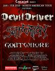 SUFFOCATION, DEVILDRIVER si GOATWHORE la streaming gratuit
