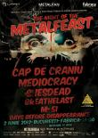 The Night of the Metalfeast in club Fabrica