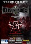 UNTOLD FAITH: detalii despre turneul 'TWO FOR THE bEAST tour 2013'