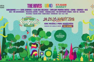 The Hives - Bucharest GreenSounds Festival 2018