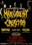 Malevolent Creation la Bucuresti