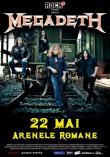 MEGADETH Super Collider World Tour: cronica de concert