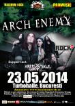 Un nou episod ARCH ENEMY despre un concert in Bucuresti