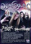 Wintersun, Bloodshot Dawn si Savage Mesiah la Londra